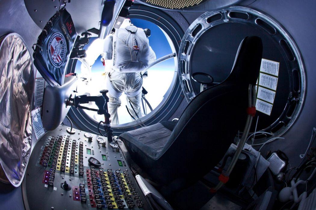 outer space jump Felix Baumgartner wallpaper