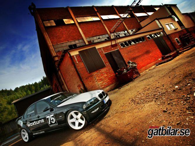cars BMW E46 wallpaper