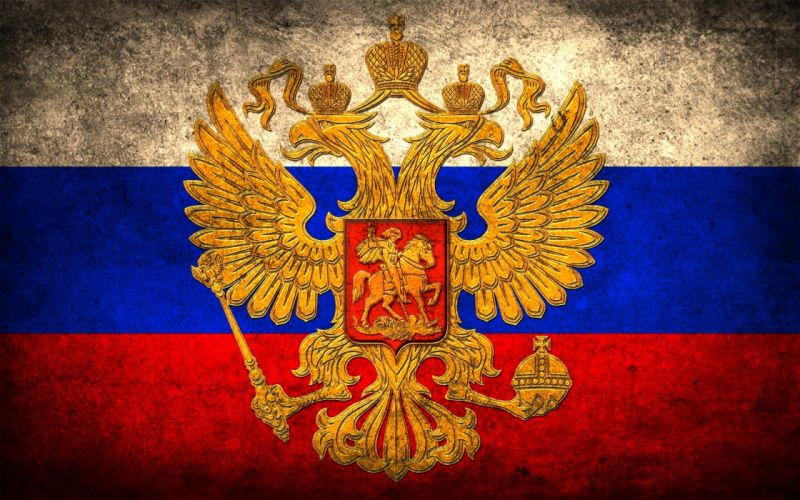 Russia symbol sign Russian flags wallpaper