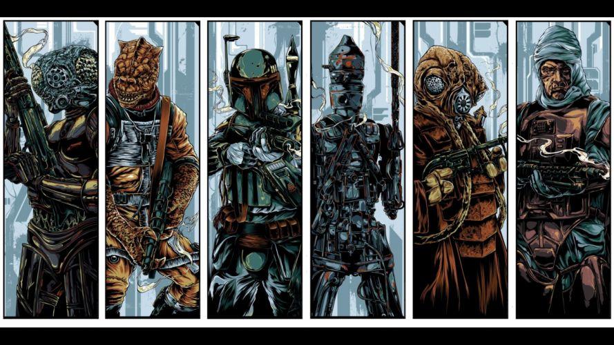 Star Wars Boba Fett bounty hunter wallpaper