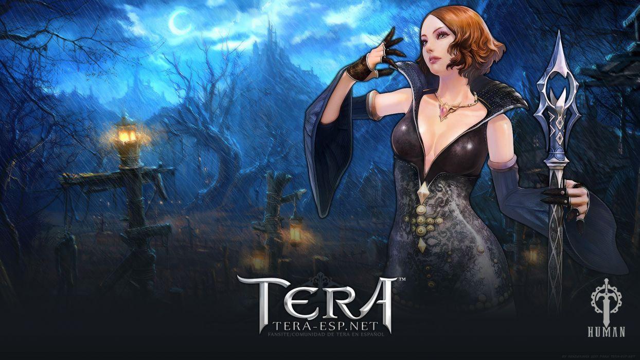 women video games human Tera MMORPG wallpaper