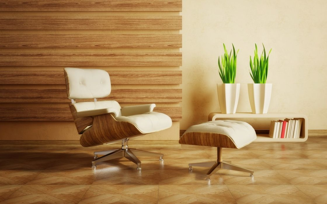 interior furniture chairs lounge chair Eames Lounge wallpaper