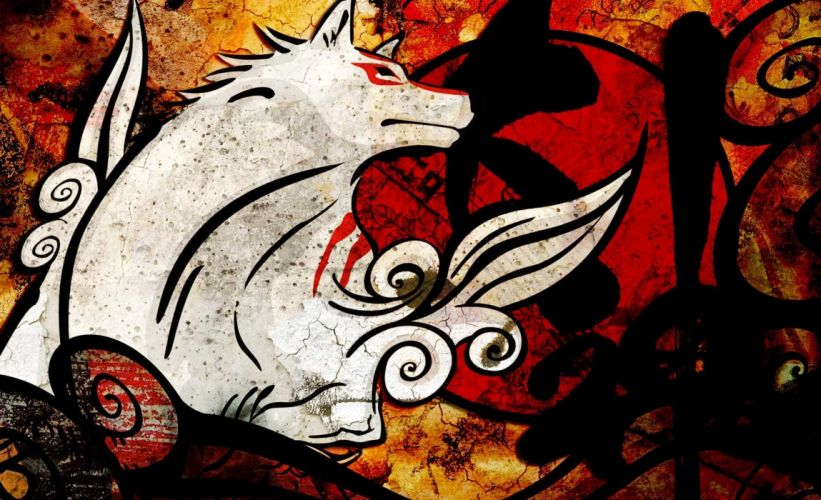 video games Okami wallpaper