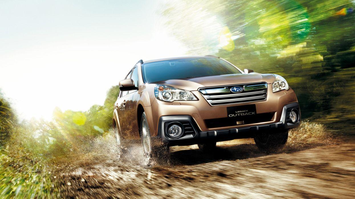 cars Subaru Outback wallpaper