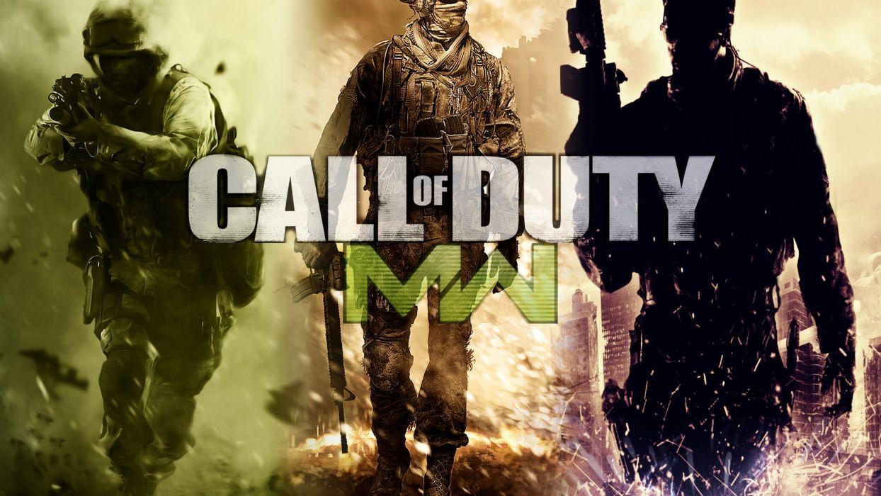 Video Games Call Of Duty Call Of Duty 4 Modern Warfare Wallpaper