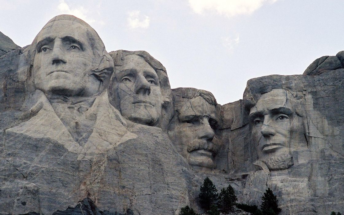 architecture presidents Mount Rushmore wallpaper