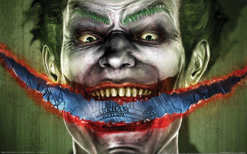 Batman The Joker Arkham Asylum Batman Arkham Asylum wallpaper