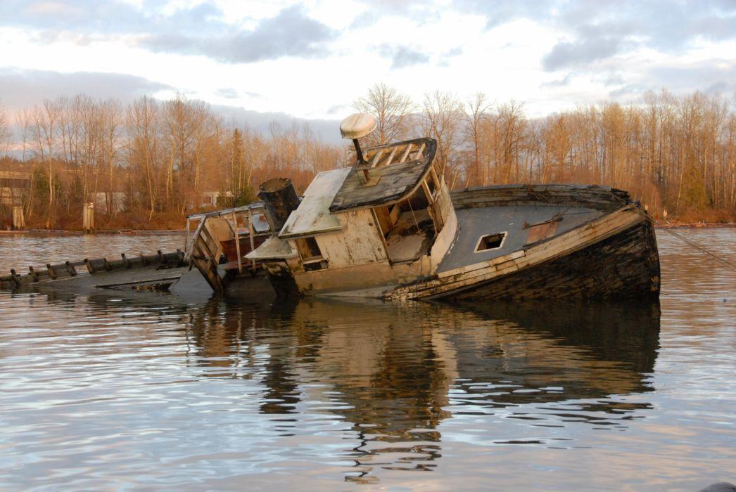 ships wrecks shipwrecks vehicles wallpaper