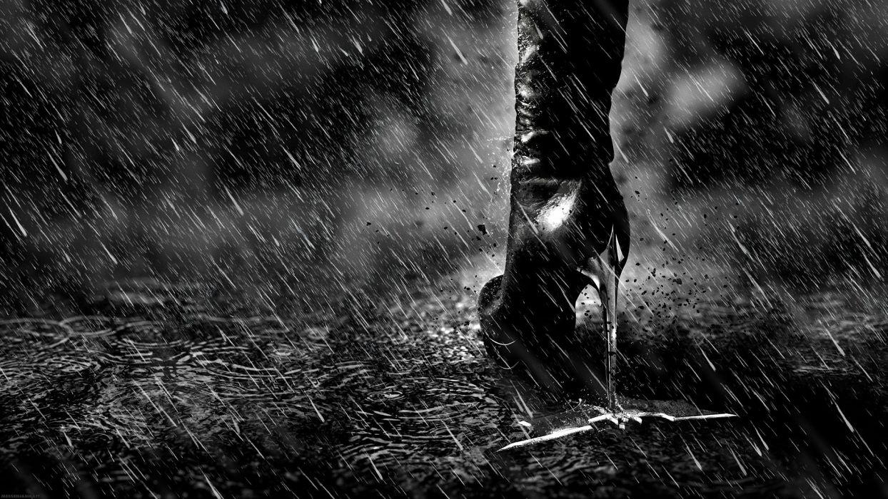 legs rain Catwoman high heels artwork Batman The Dark Knight Rises Batman Logo wallpaper