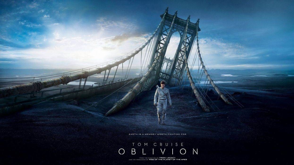 movies Tom Cruise Oblivion (2013) wallpaper