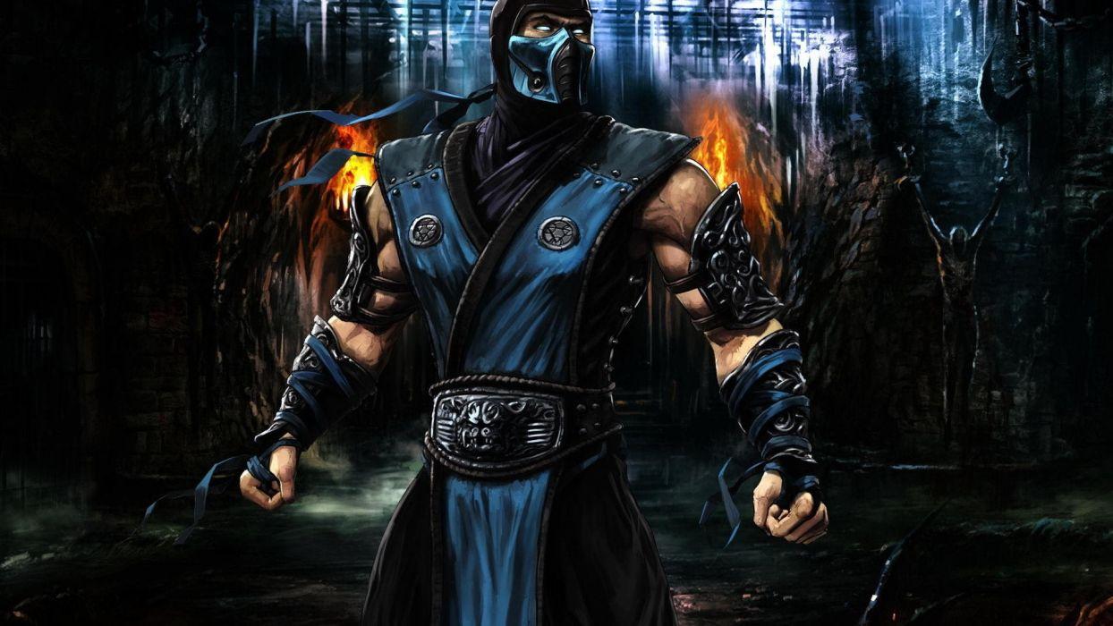 ninjas Mortal Kombat Sub-Zero wallpaper