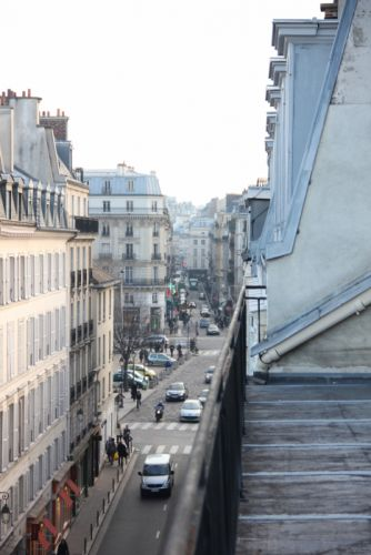 Paris streets wallpaper