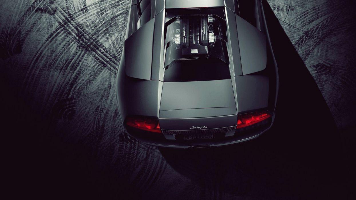 dark night cars Lamborghini Lamborghini Murcielago LP640 wallpaper