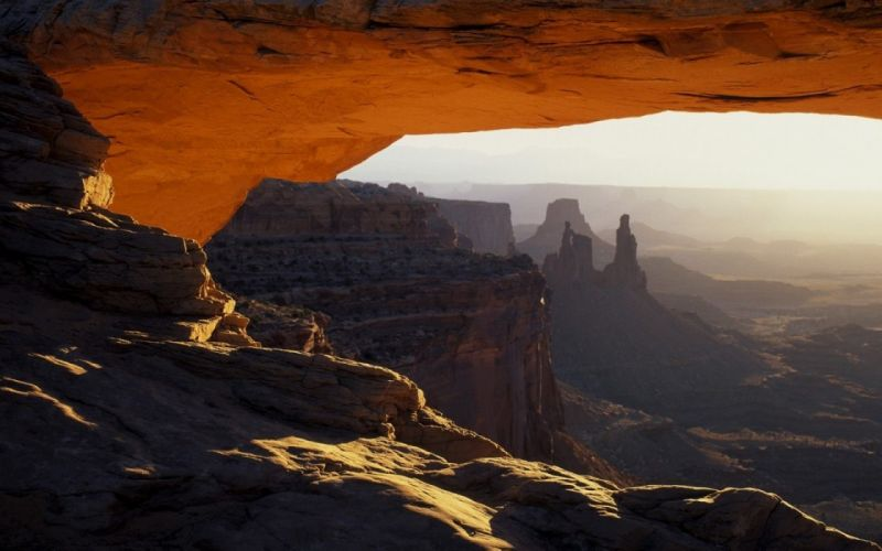 landscapes nature canyon rock formations wallpaper