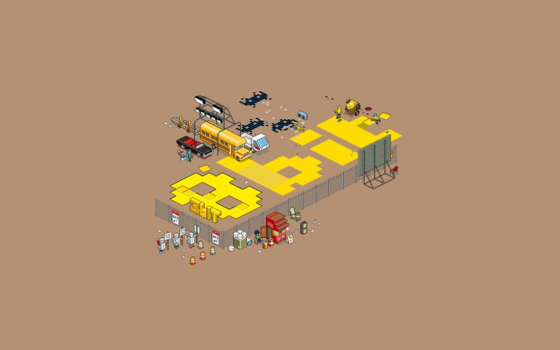 8-bit wallpaper