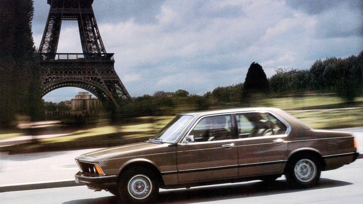 Eiffel Tower BMW cars wallpaper