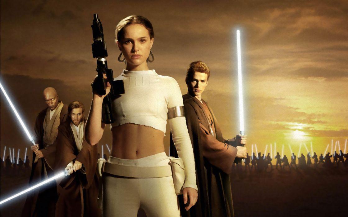 Star Wars Movies Natalie Portman Wallpaper 1680x1050 66830 Wallpaperup