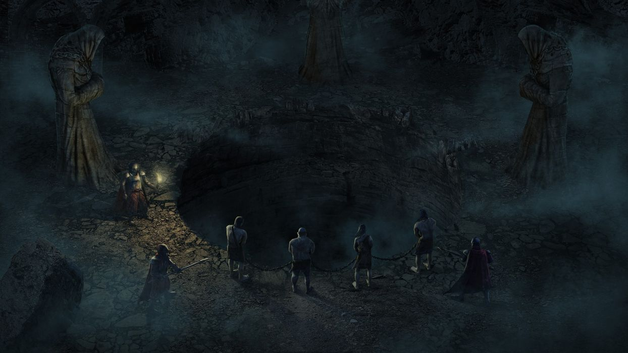 video games Legend of Grimrock wallpaper