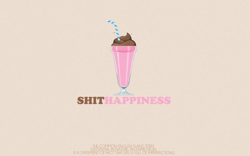 pink text humor ice cream wallpaper