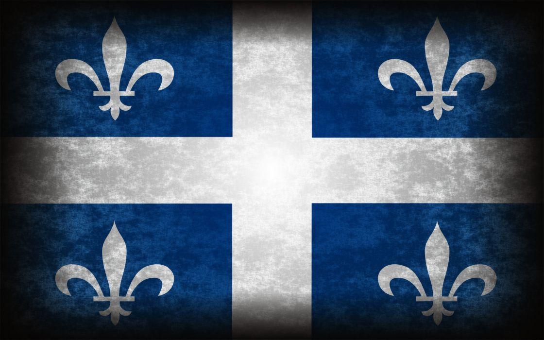 flags Quebec wallpaper