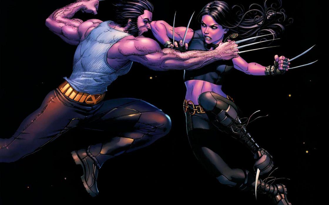 comics X-Men Wolverine Marvel Comics X-23 wallpaper