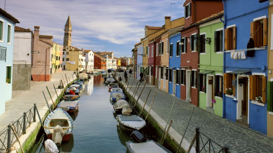 Venice Italy canal wallpaper