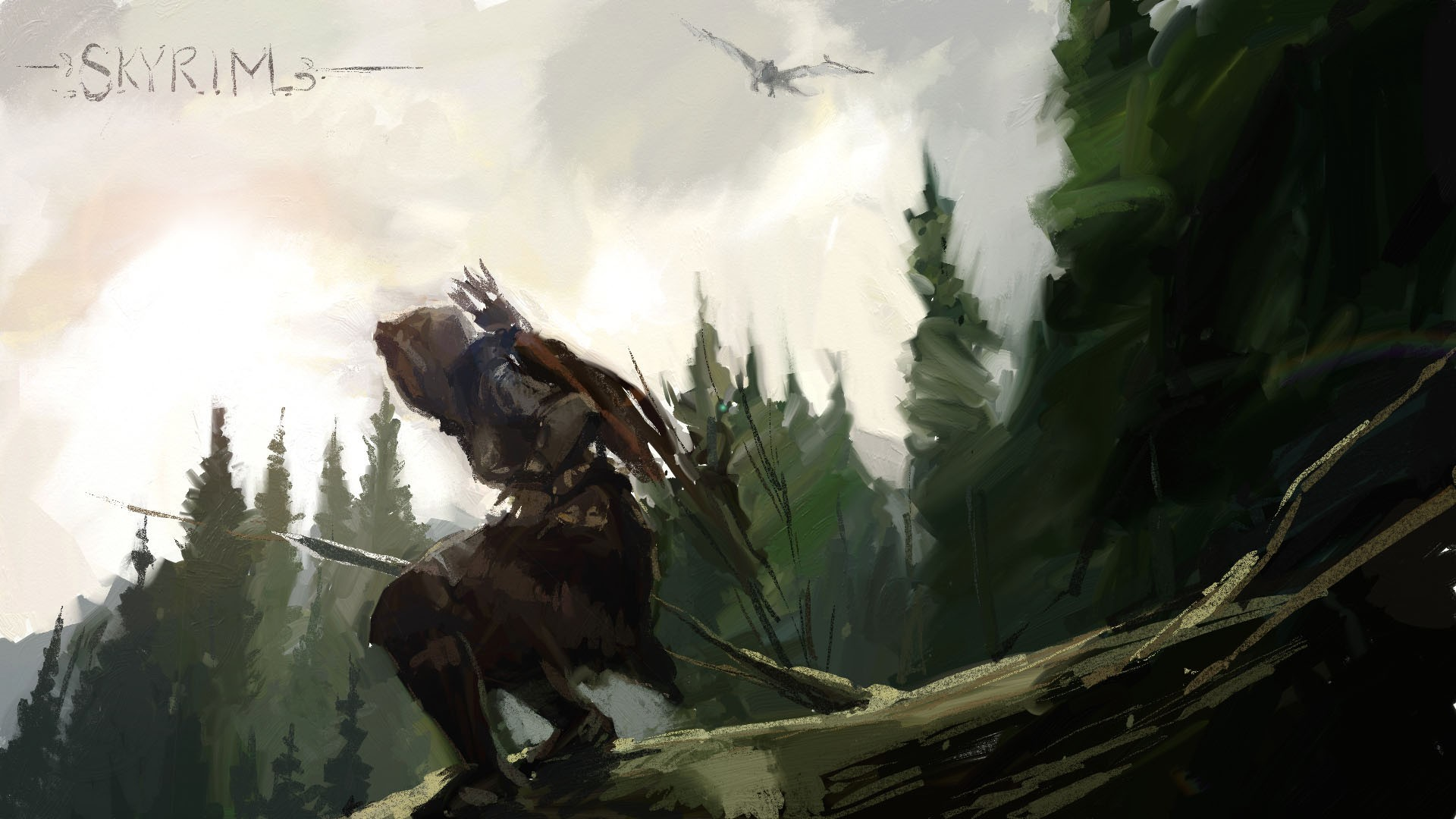 skyrim paint art wallpapers - photo #5