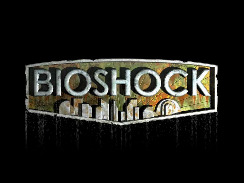 BioShock simple background wallpaper