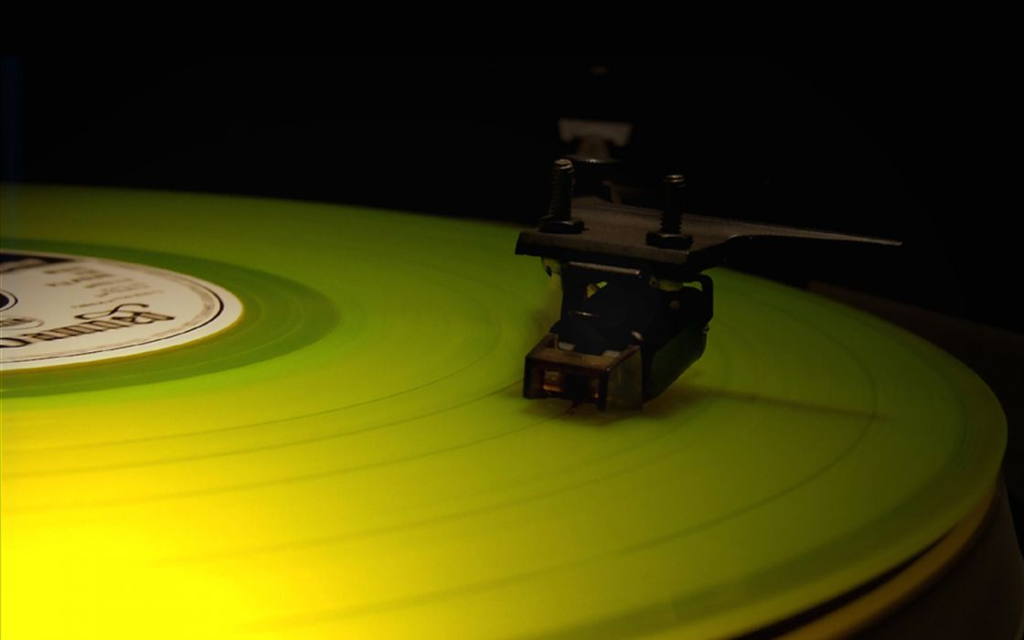 music turntable record player gramophone wallpaper