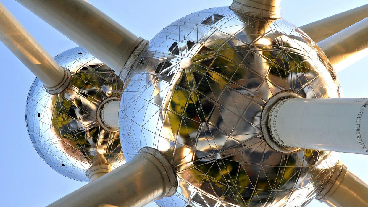 monument Atomium bruxelles wallpaper