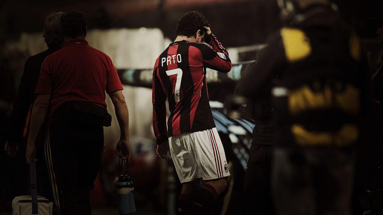 sports soccer AC Milan Alexandre Pato wallpaper