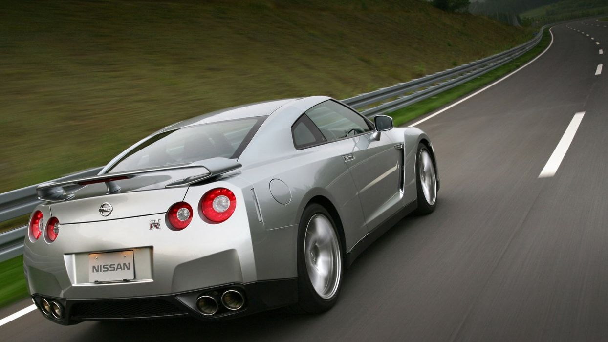 cars vehicles transports wheels Nissan GTR Spec-V speed automobiles wallpaper