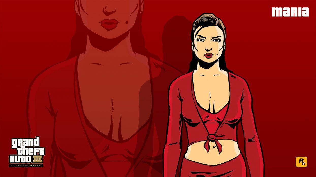 Maria Grand Theft Auto Rockstar Games Anniversary Grand Theft Auto
