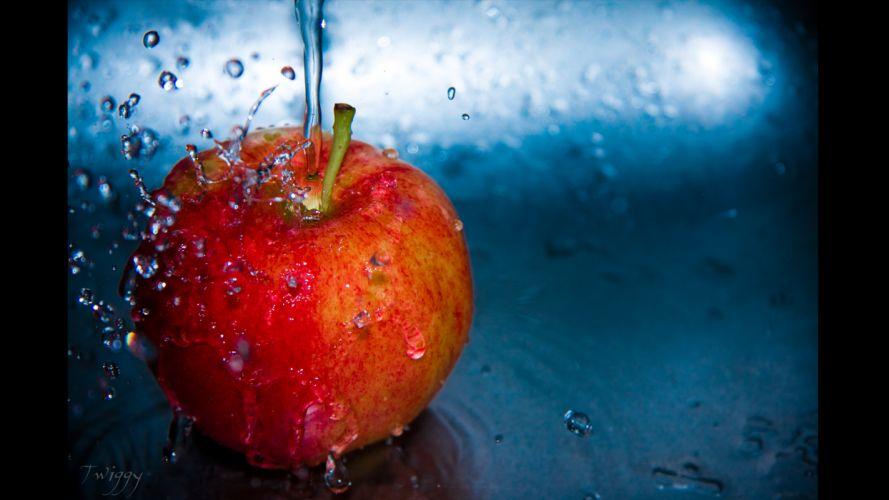 water Apple Inc_ fruits slow wallpaper