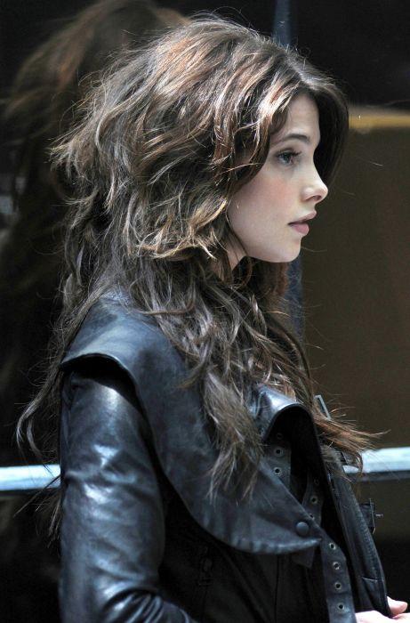 leather Ashley Greene leather jacket wallpaper