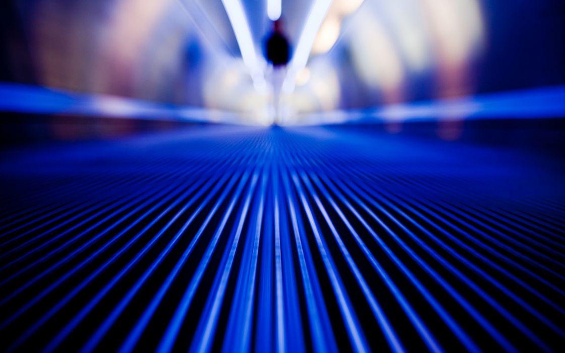 floor metal Las Vegas airports lines depth of field blurred wallpaper