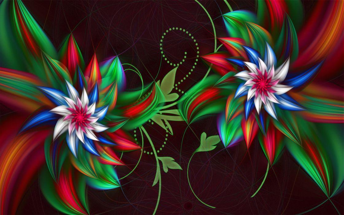 3D abstract fractal     g wallpaper