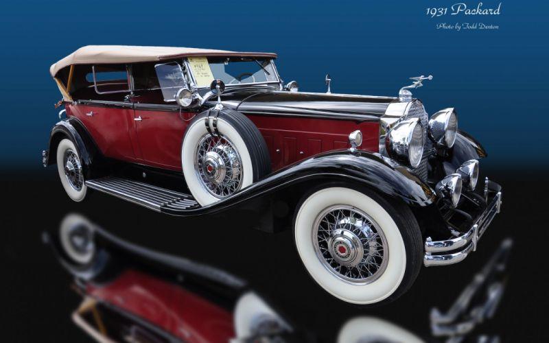 Packard Vintage Car wallpaper