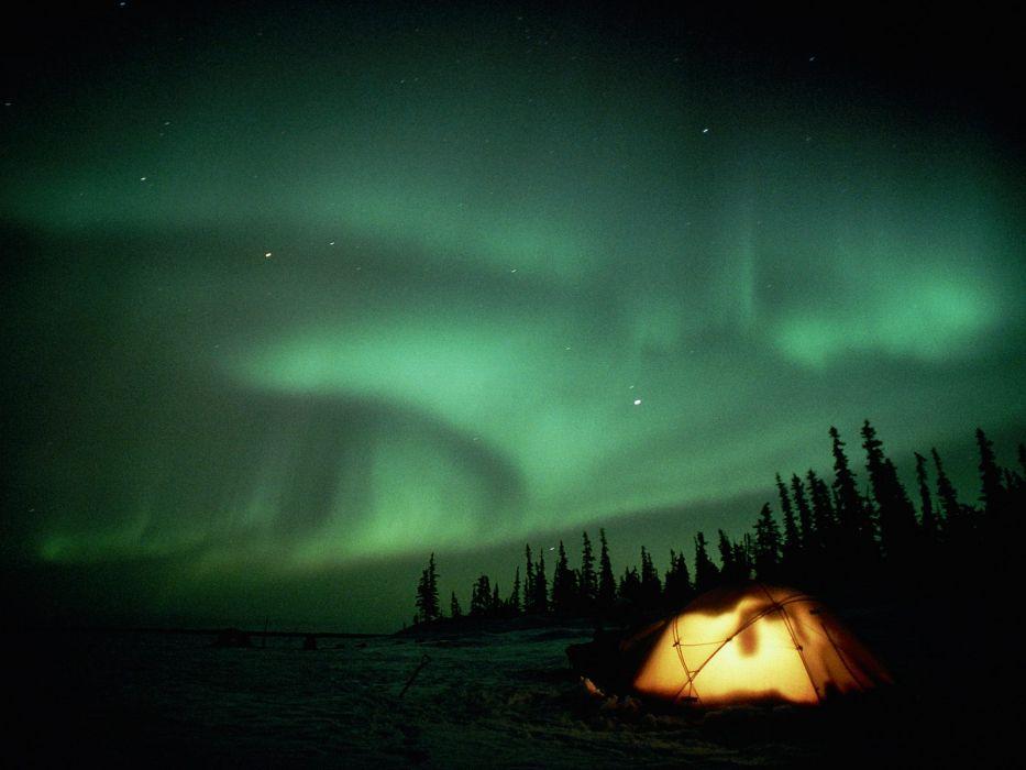 night stars tents wallpaper