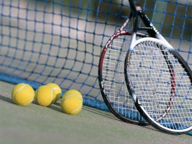 sports tennis tennis balls tennis racquet wallpaper