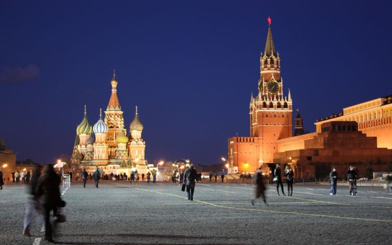 cityscapes Russia Moscow Kremlin Red Square saint basil's cathedral wallpaper