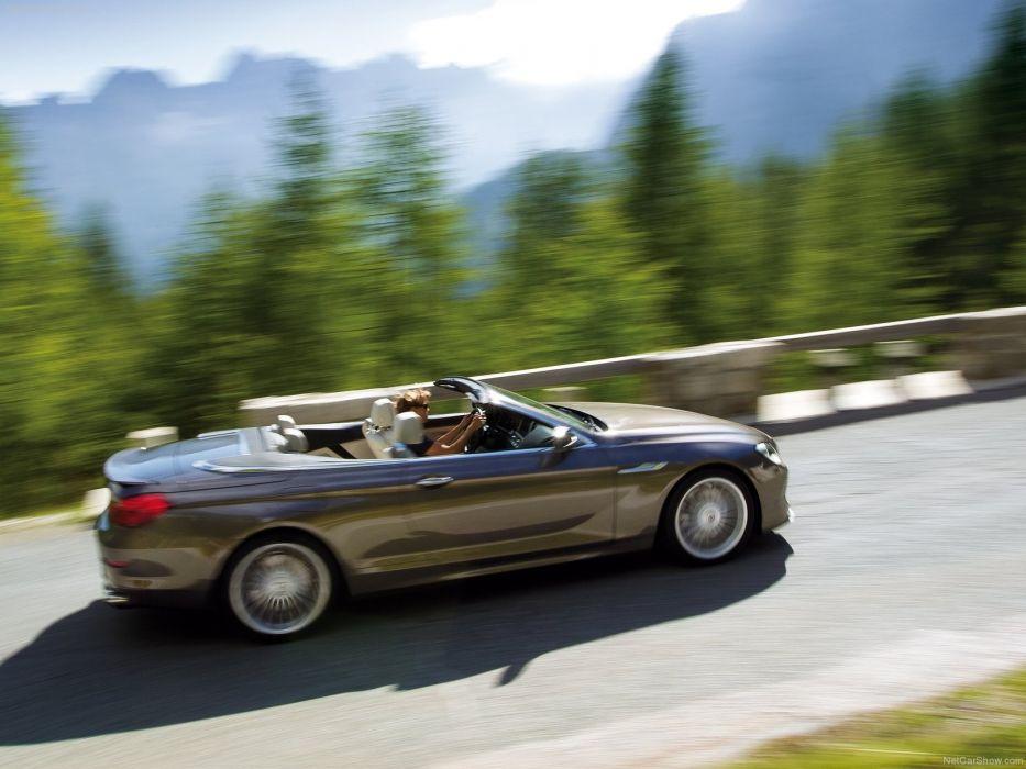 BMW cars turbo convertible coupe Alpina wallpaper
