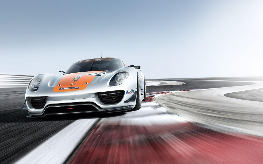concept art vehicles Porsche 918 wallpaper