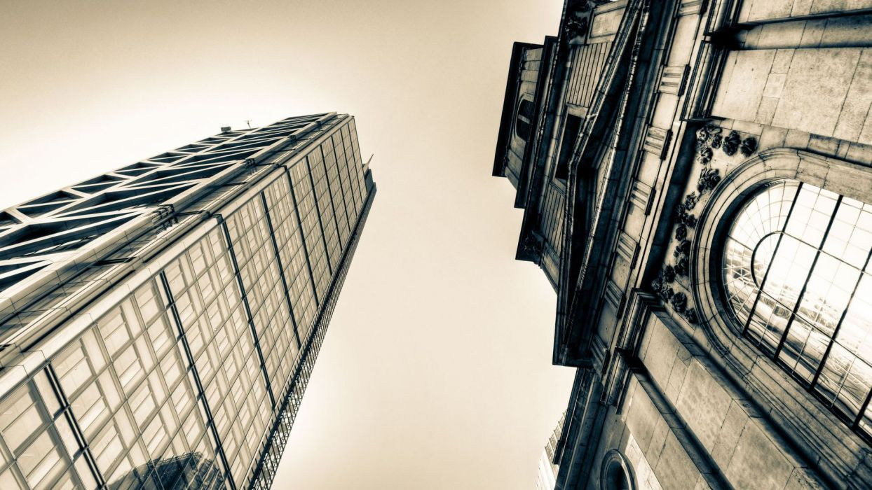 architecture buildings monochrome window panes wallpaper