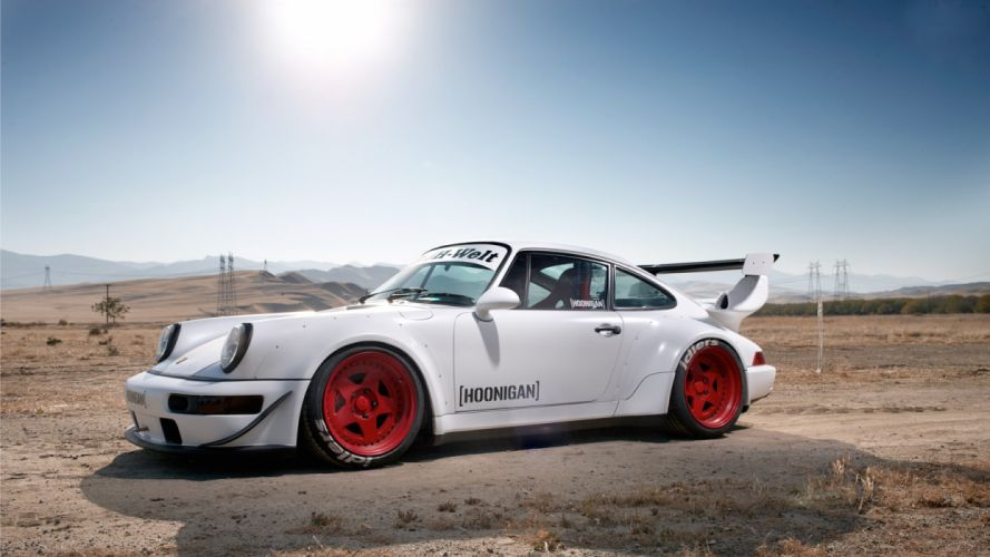 cars desert tuning white cars Porsche 911 Rauh Welt Begriff hoonigan wallpaper