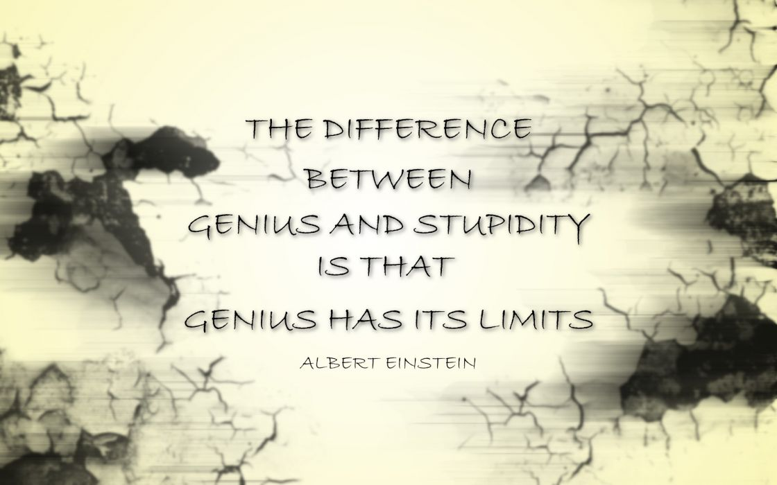 text quotes Albert Einstein wallpaper