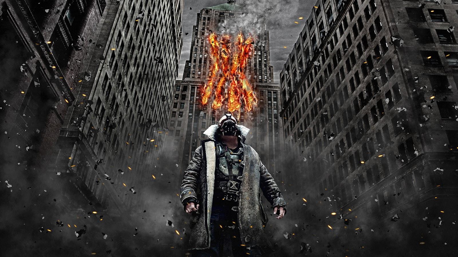 Batman the dark knight rises bane debris buildings for Dark knight rises wall mural