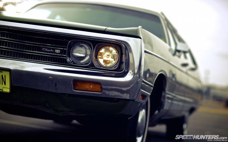 Classic Car Classic Chrysler Headligh wallpaper