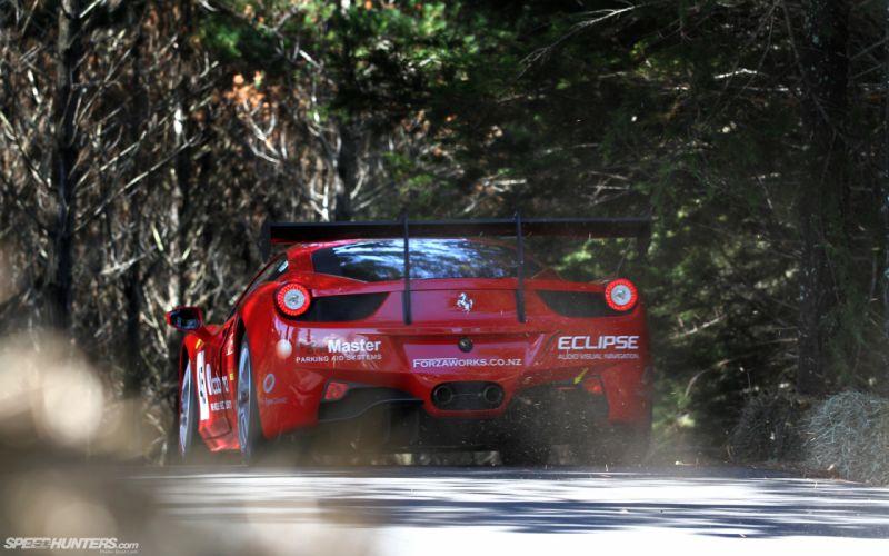 Ferrari 458 Italia Race Car wallpaper