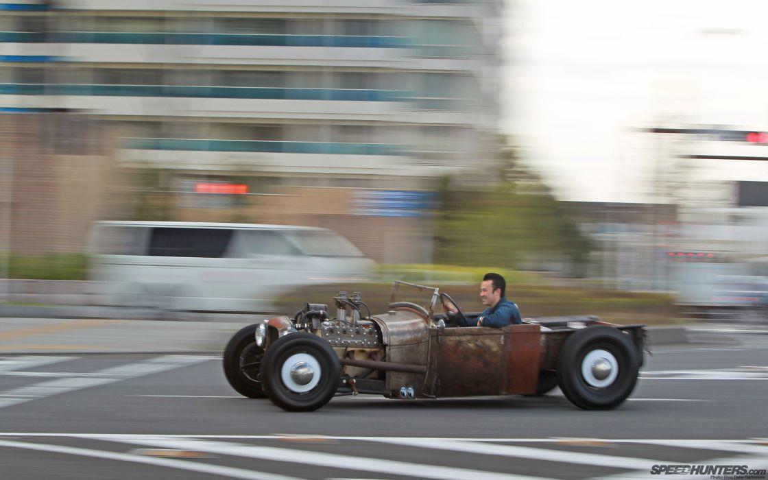 Classic Car Classic Hot Rod Rat Rod Ford Rust     d wallpaper